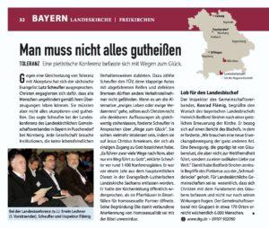 ideaSpektrum-Beitrag Landeskonferenz Landeskirchlicher Gemeinschaftsverband Bayern