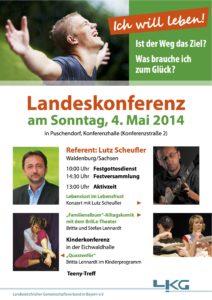 Landeskonferenz Landeskirchlicher Gemeinschaftsverbandes Bayern